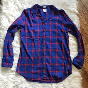 J. Crew Body Fit Flannel